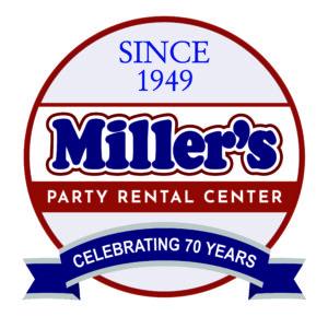 Miller's Party Rental Logo