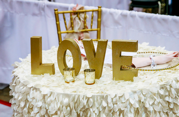 I-X Center Bridal Show 2019 Reception Table Gallery