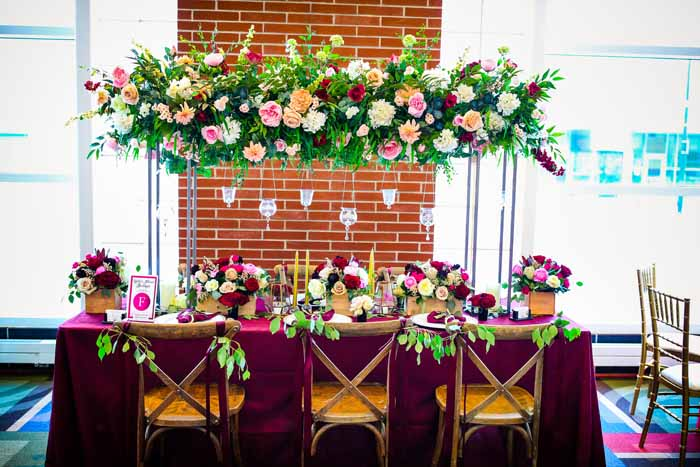 Reception Tables | Jay Kossman Photography | As seen on TodaysBride.com