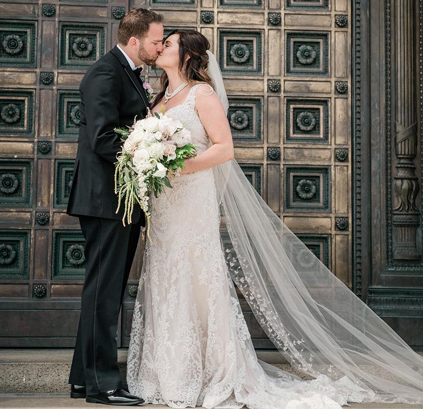 Mackenzie & Justin's Glam Garden Wedding