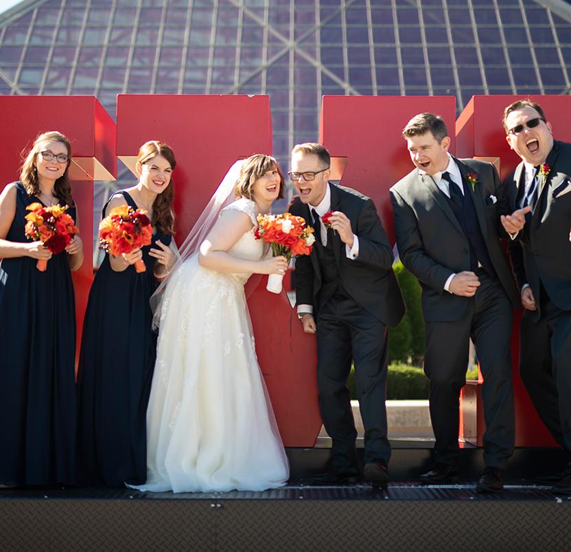 Real Wedding, Victoria & Craig
