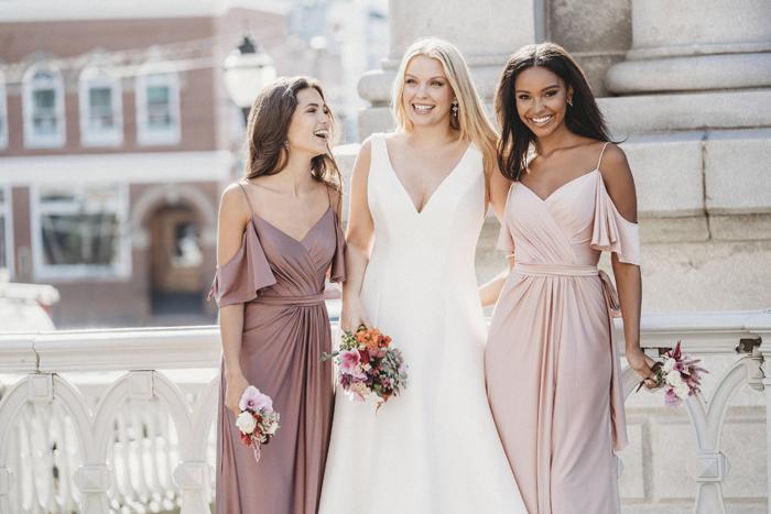 Wedding Attire | Allure Bridesmaids | As seen on TodaysBride.com