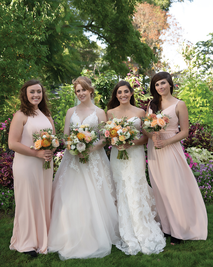 Peach Wedding | OH Snap! Photography | As seen on TodaysBride.com