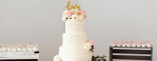 Wedding Cake | Purple Door Bakery | As seen on TodaysBride.com