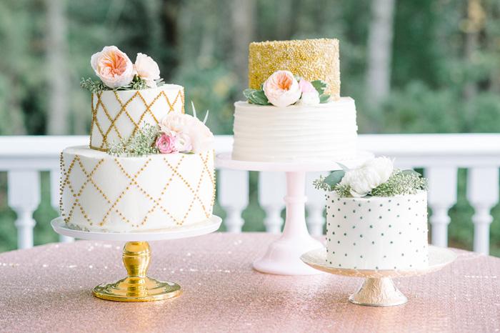 Cake Trends | Aaron and Jillian Photography | As seen on TodaysBride.com