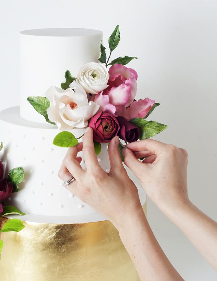 Wedding Cake | CakeInk | As seen on TodaysBride.com