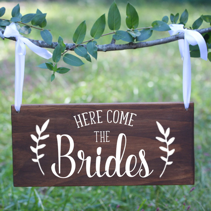Same-Sex Wedding | The Native Bride  | As seen on TodaysBride.com