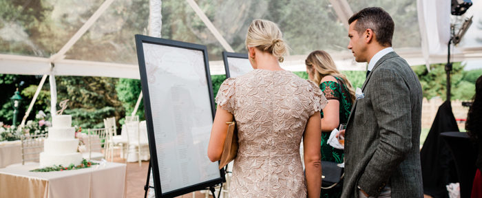 The Importance of Seating Charts and Escort Cards