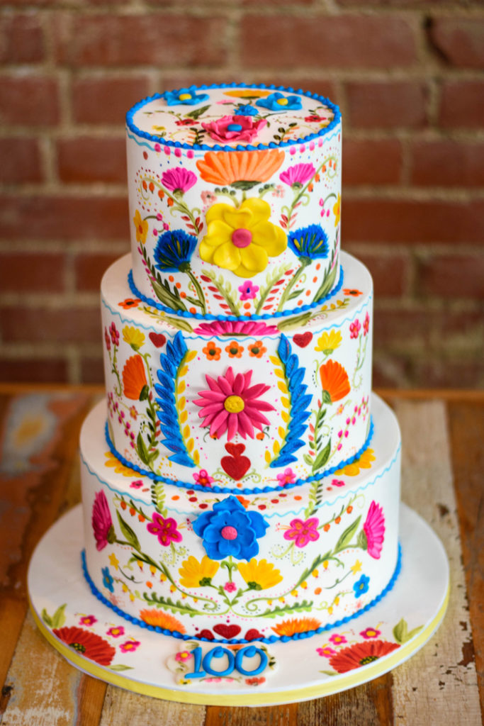 Colorful | A Cake Come True | As seen on TodaysBride.com