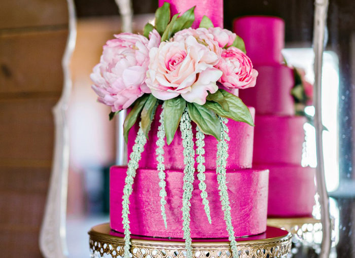 Colorful | Posh Cakery and Andie Freeman Photography | As seen on TodaysBride.com