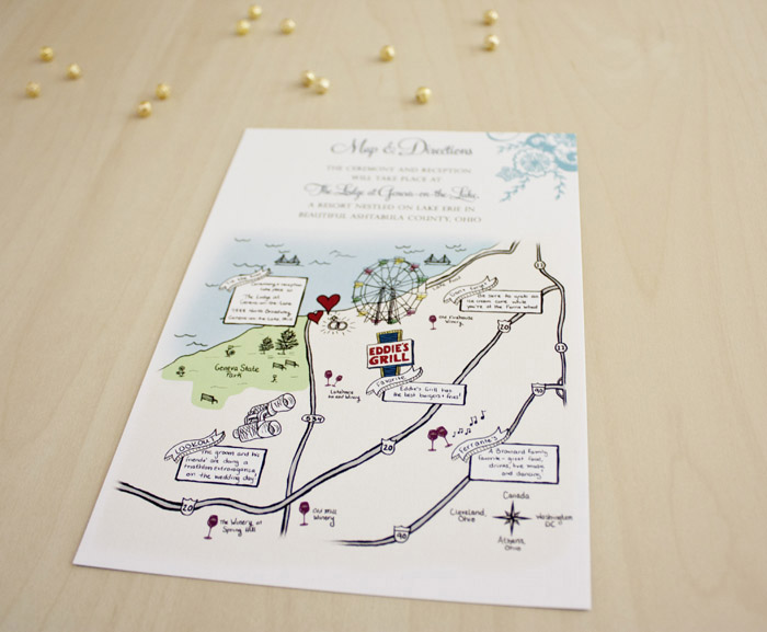 Travel Themed Wedding | Brittney Nichole Designs | As seen on TodaysBride.com