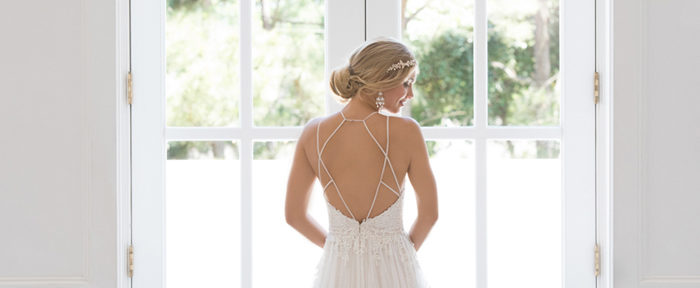 Dreamy and Romantic: A-Line Gowns
