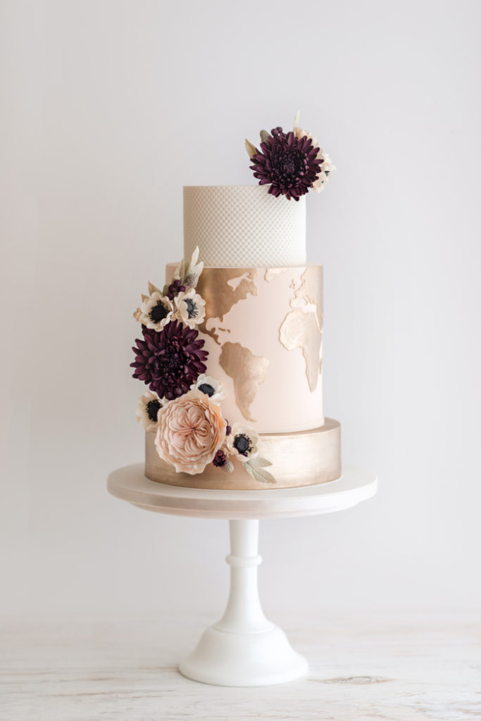 Travel Themed Wedding | De la Creme Creative Studio, Heidi Holmon  | As seen on TodaysBride.com