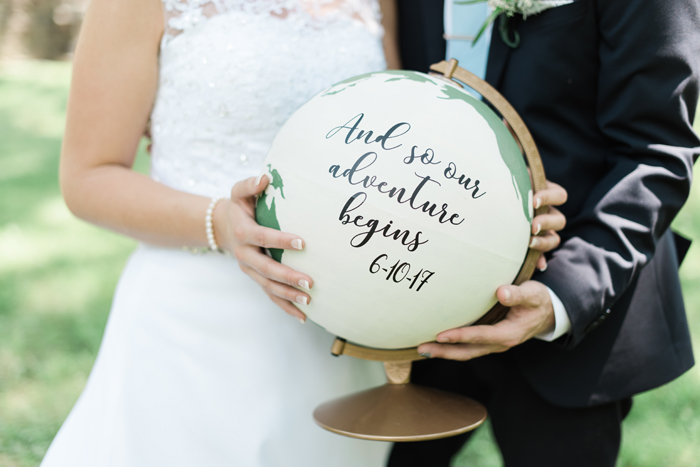 Travel Themed Wedding | Britani Edwards Photography  | As seen on TodaysBride.com