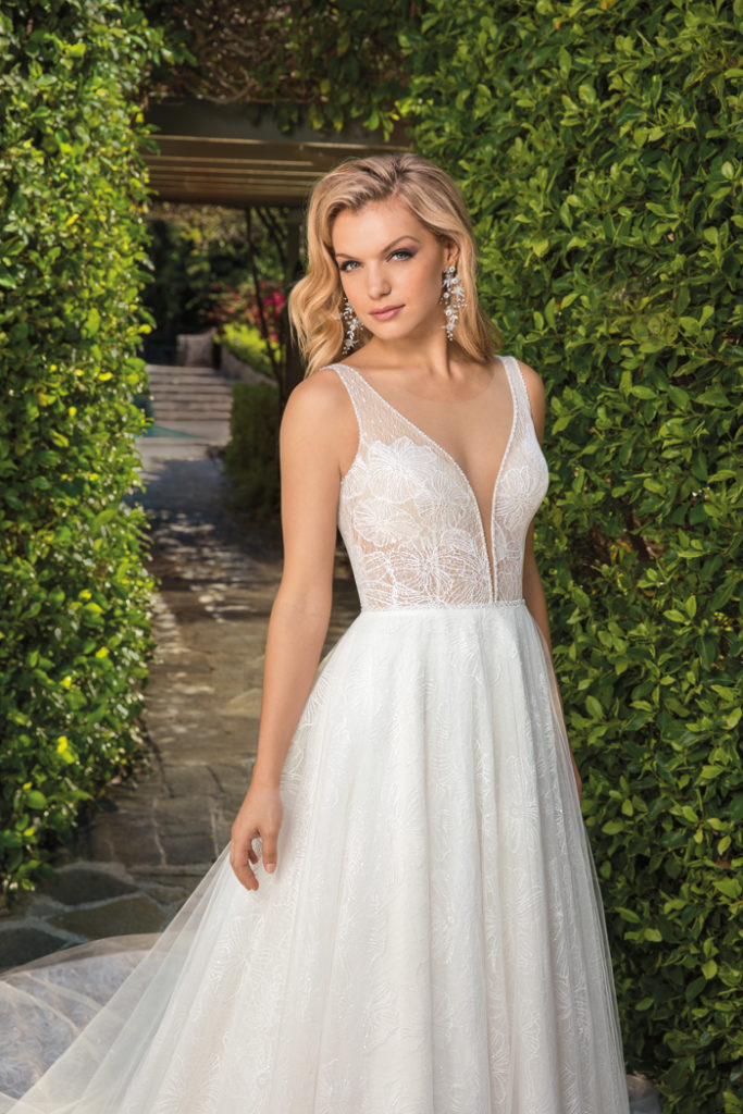 A-Line Gowns | Casablanca | As seen on TodaysBride.com