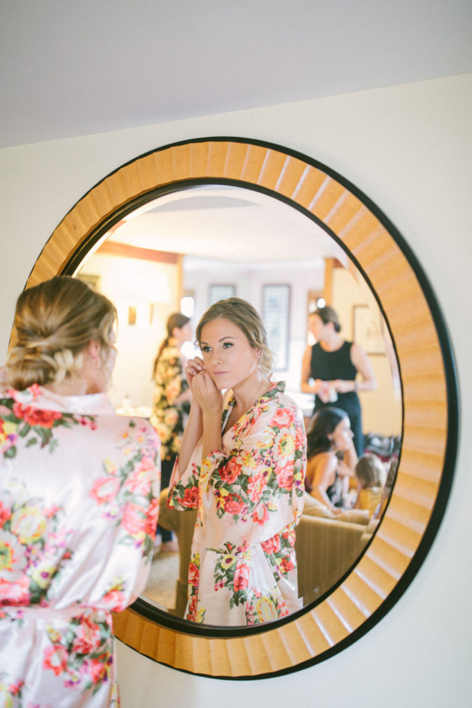 Getting ready | too much awesomeness | As seen on todaysBride.com