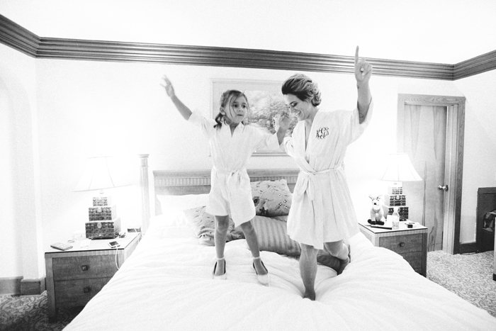Bride and Flower Girl | too much awesomeness | As seen on TodaysBride.com