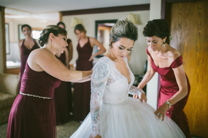 Bride Getting Ready | too much awesomeness | as seen on Todaysbride.com