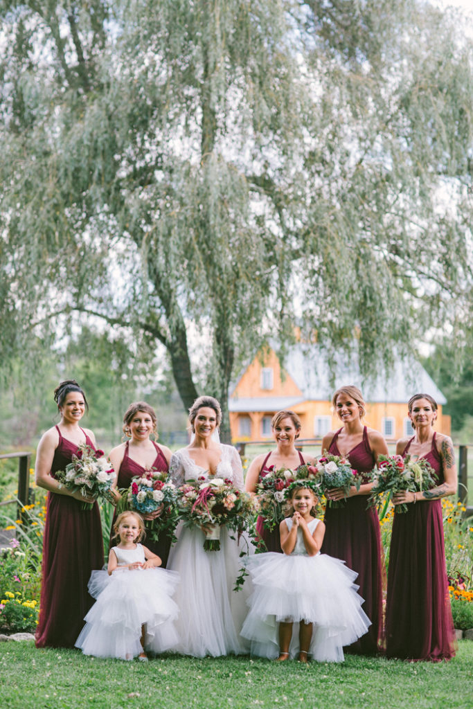 Bride and Bridesmaids | too much awesomeness | as seen on todaysbrie.com