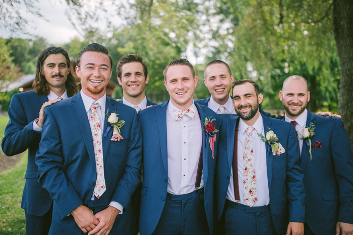 Groom and Groomsmen | too much awesomeness | As seen on TodaysBride.com