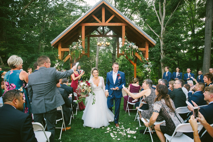 Wedding Ceremony | too much awesomeness | As seen on TodaysBride.com