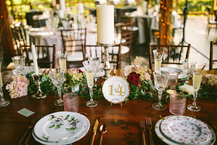 Reception Table | too much awesomeness | As seen on TodaysBride.com
