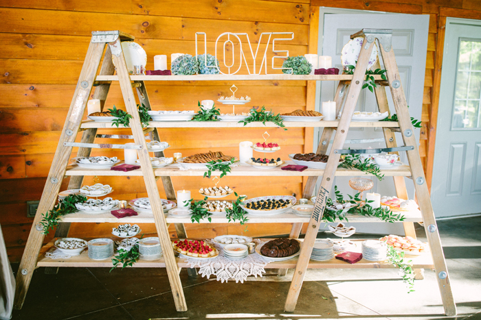 Dessert Table   too much awesomeness   As seen on TodaysBride.com