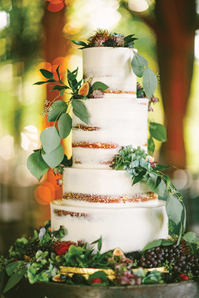 Naked Cake | too much awesomeness | As seen on TodaysBride.com