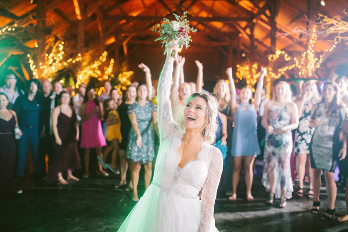 Bouquet Toss | too much awesomeness | As seen on TodaysBride.com