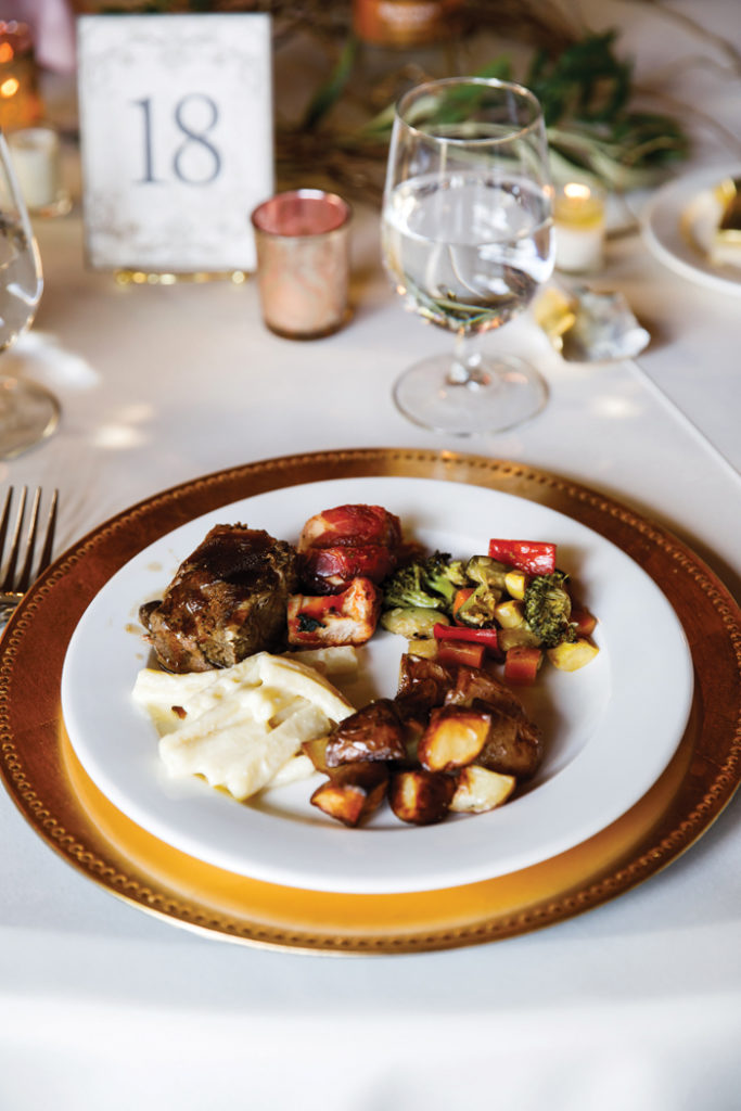 Steak Dinner | Genevieve Nisly Photography | As seen on TodaysBride.com