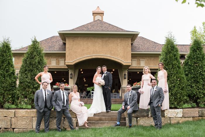 Wedding Party | Sabrina Hall Photography | As seen on TodaysBride.com