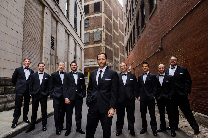Groomsmen | Genevieve Nisly Photography | as seen on TodaysBride.com
