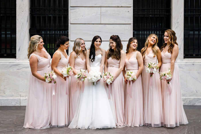 Bridesmaids | Genevieve Nisly Photography | As seen on TodaysBride.com
