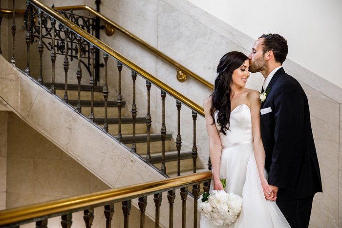 Bride and Groom | Genevieve Nisly Photography | As seen on TodaysBride.com