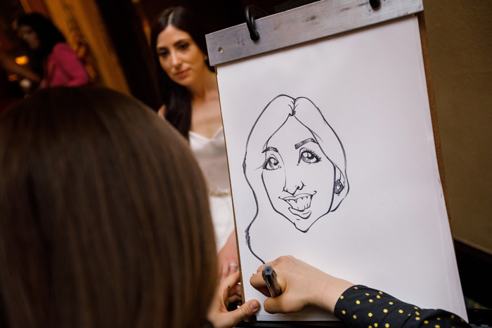 Caricature | Genevieve Nisly Photography | As seen on TodaysBride.com