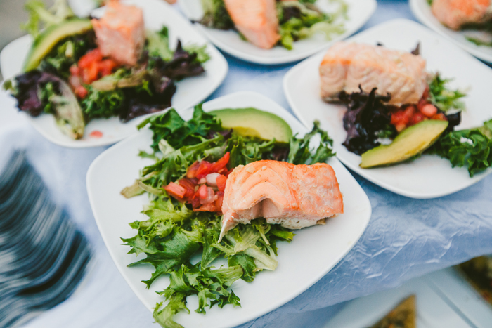 Salmon Dinner | too much awesomeness | As seen on TodaysBride.com