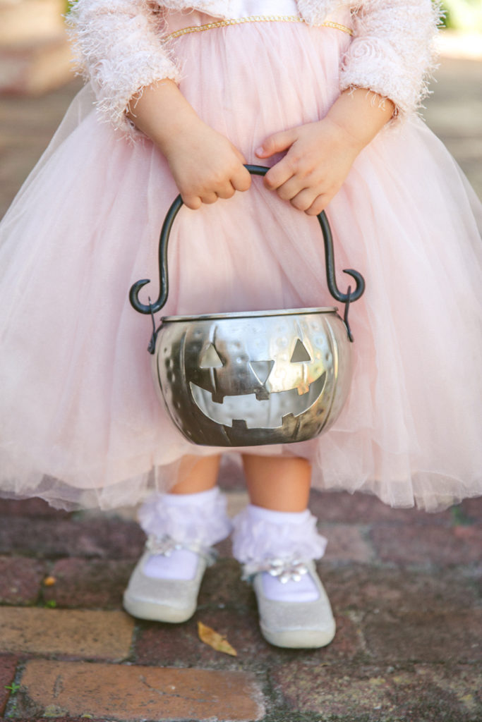 Little Girl at Halloween in Princess Costume | Concept Photography | As seen on TodaysBride.com
