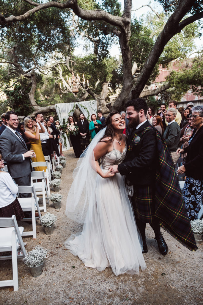 Bride and groom just married | John Patrick Images | As seen on TodaysBride.com