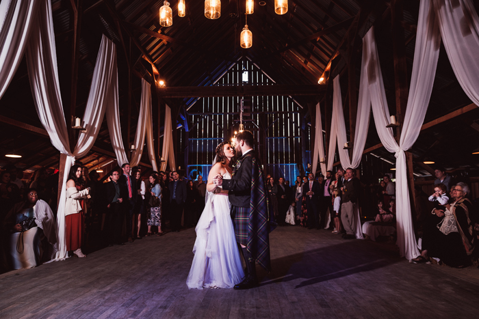Bride and groom first dance | John Patrick Images | As seen on TodaysBride.com
