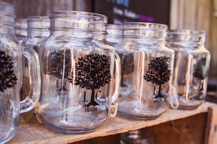 mason jar wedding favors | John Patrick Images | As seen on TodaysBride.com