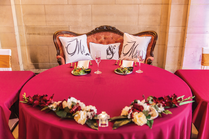 Sweetheart Wedding Table  | The Cleveland Photographic Co. | As seen on TodaysBride.com