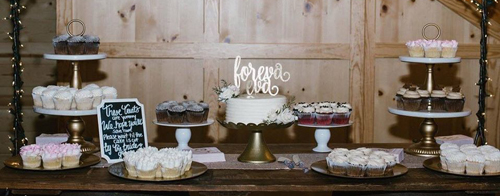 Dessert Table | In The Mix Bakery | As seen on TodaysBride.com