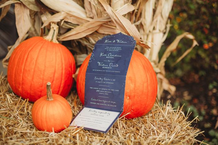 Pumpkins + Invitations | Jadie Foto | As seen on TodaysBride.com