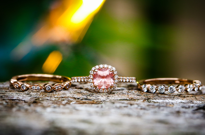Pink Engagement Ring   Jay Kossman Photography   As seen on TodaysBride.com