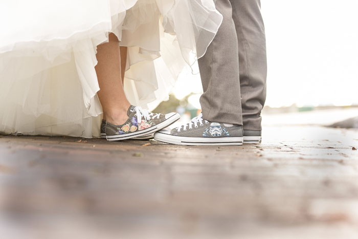 Bride and Groom Shoes | Jodi Hutton Photography | As seen on TodaysBride.com