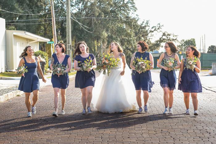 Bridesmaids | Jodi Hutton Photography | As seen on TodaysBride.com