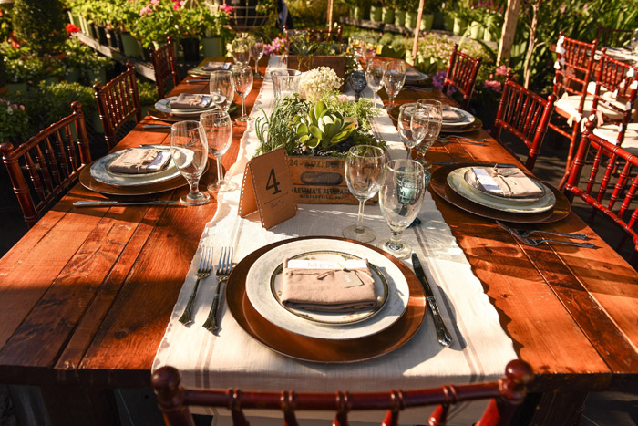 Table Setting | Jodi Hutton Photography | As seen on TodaysBride.com