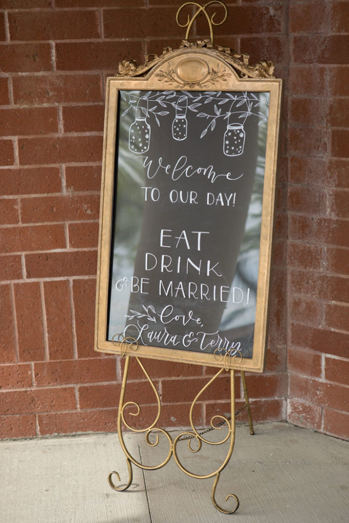 Wedding Sign | Sabrina Hall Photography | As seen on TodaysBride.com