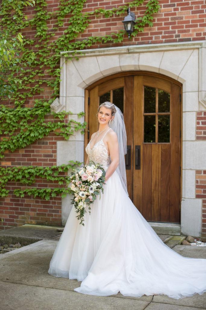 Smiling Bride   Sabrina Hall Photography   as seen on TodaysBride.com
