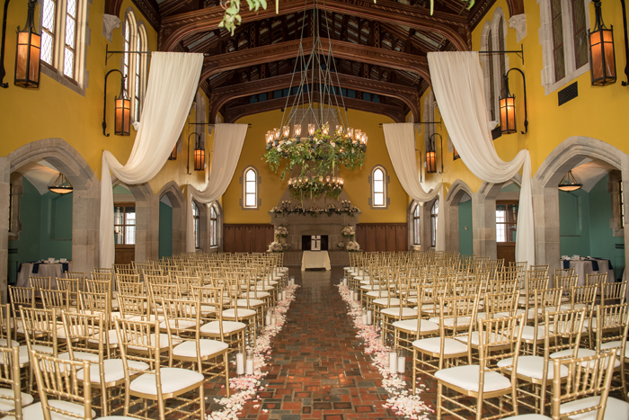 Glenmoor Country Club decorated for a wedding   Sabrina Hall Photography   as seen on TodaysBride.com